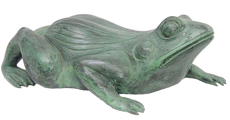 Bronze Frog Fountain/Statue - DD 1065