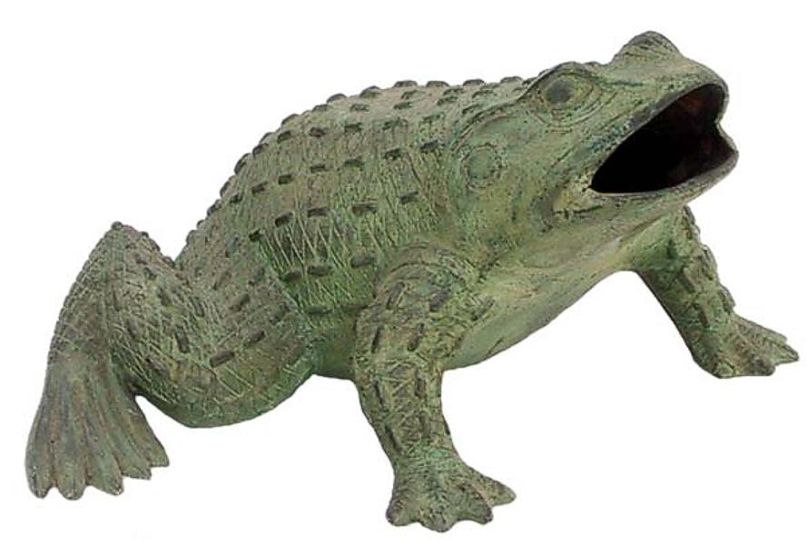Bronze Frog Fountain/Statue - DD 1093