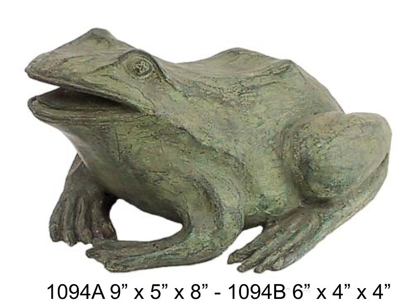 Bronze Frog Fountain/Statue - DD 1094AB