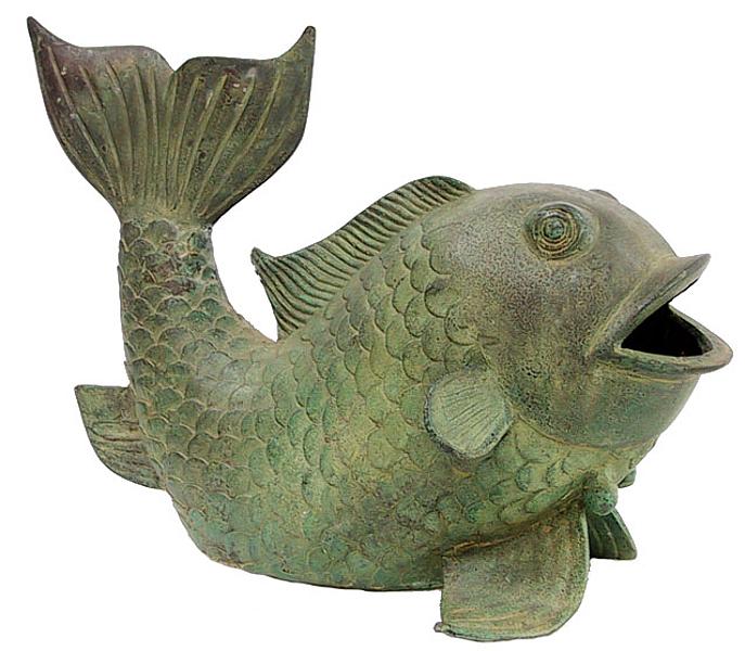 Bronze Fish Fountain Spitter - DD 1104A