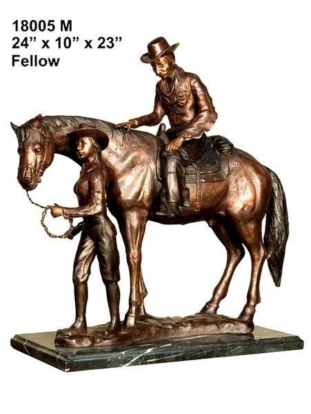 Bronze Horse Statues - AF 18005M