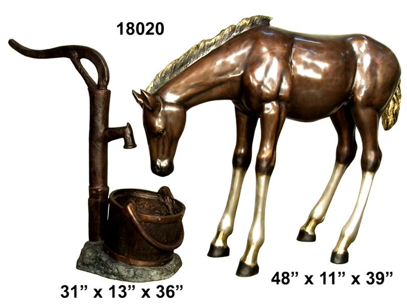 Bronze Horse Statues - AF 18020