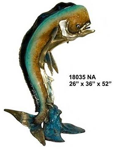 Bronze Dorado Statue - AF 18035 NA