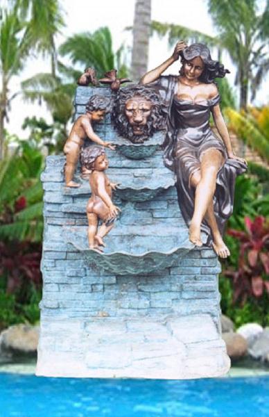 Bronze Wall Fountain - BB 263-27