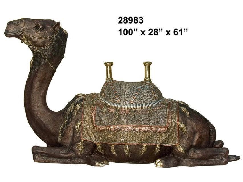 Bronze Camel Statue - AF 28983