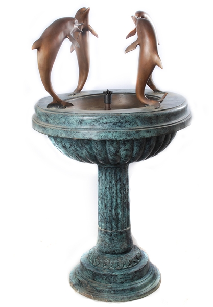 Bronze Dolphin Fountains - AF 28988
