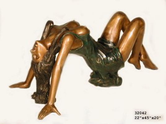 Bronze Sexy Lady Statue - AF 32042