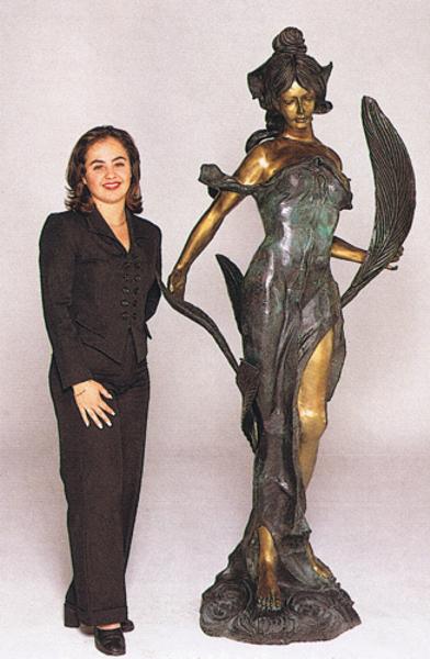 Bronze Diana Statue - ASB 352MO