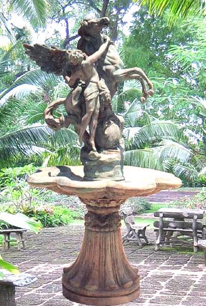 Bronze Pegasus Fountain - BB 45-18 WBT