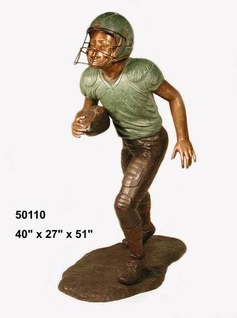 Bronze Football Sculptures   Bronze Football Statues - AF 50110
