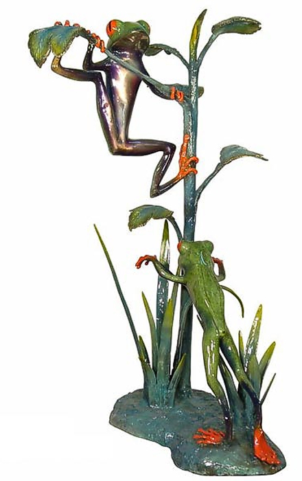 Bronze Frogs Statue - AF 50542NA