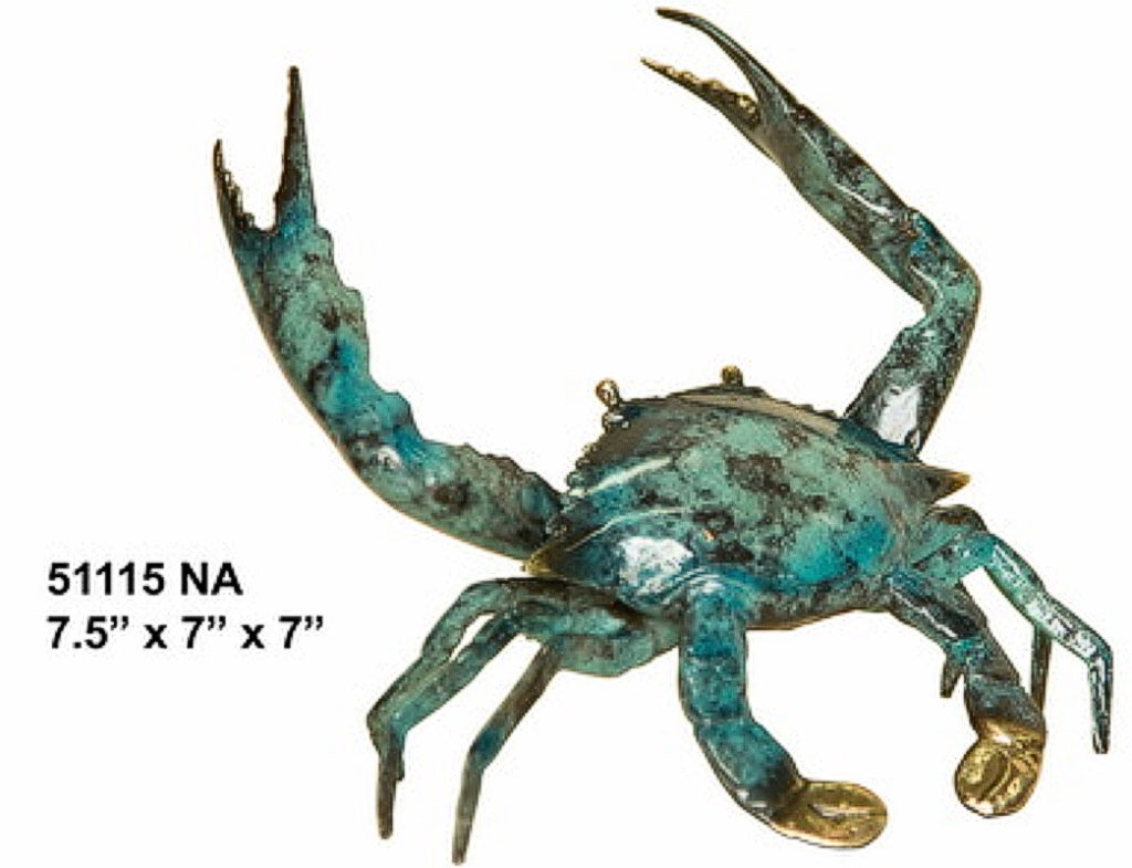 Bronze Crab Statue - AF 51115NA