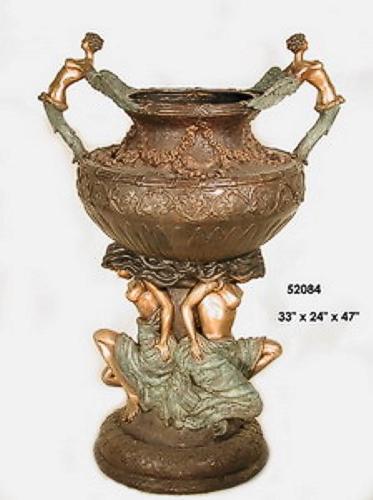 Bronze Naked lady Urn - AF 52084