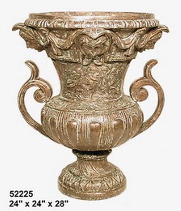 Bronze Urn with Handles - AF 52225