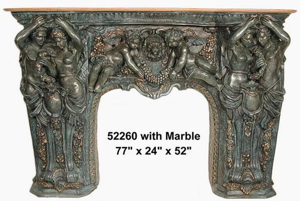 Bronze Fireplace Surrond - AF 52260