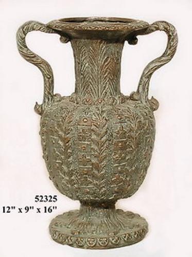 Bronze Urn wth Handles - AF 52325