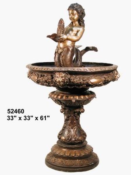 Bronze Mermaid Fountains | Bronze Mermaid Statues - AF 52460