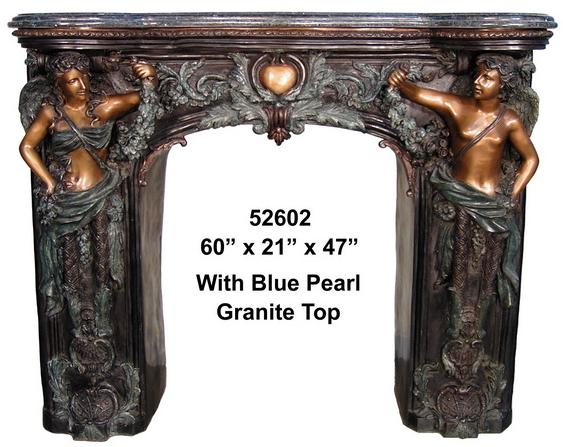 Bronze Fireplace Surrond - AF 52602