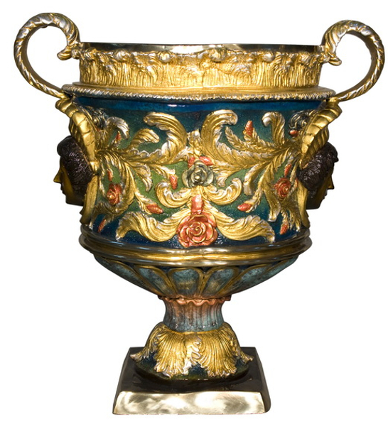 Bronze Urn with Handles - AF 52666NB