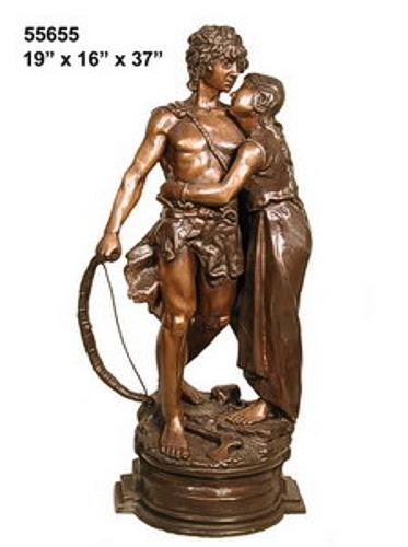 Bronze Lovers Statues - AF 55655