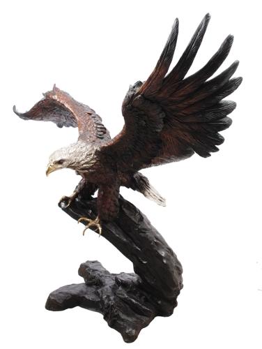 Bronze Eagle Statues   Bird of Prey - AF 55846TS