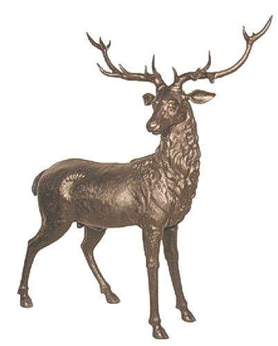 Bronze Deer Buck Statues - AF 56013A