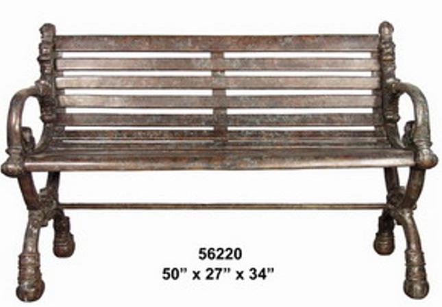 Bronze Park Bench - AF 56220