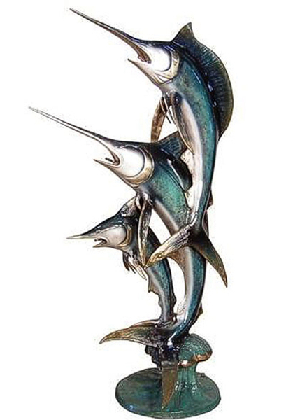 Bronze Sailfish Fountain - AF 56279NA