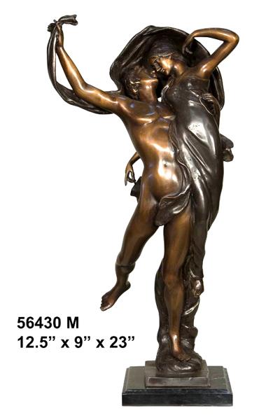 Bronze Dancers Statue - AF 56430M