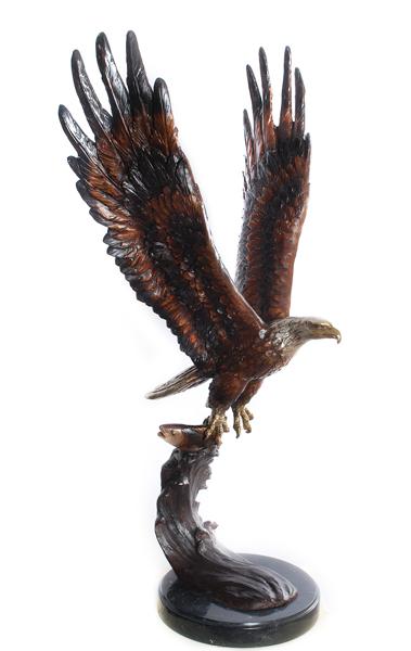 Bronze Eagle Statues   Bird of Prey - AF 56604