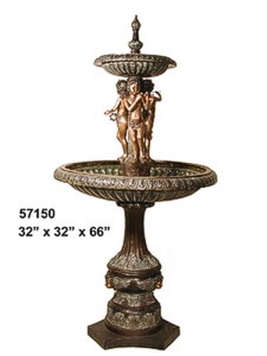 Bronze Children's Tier Fountain - AF 57150