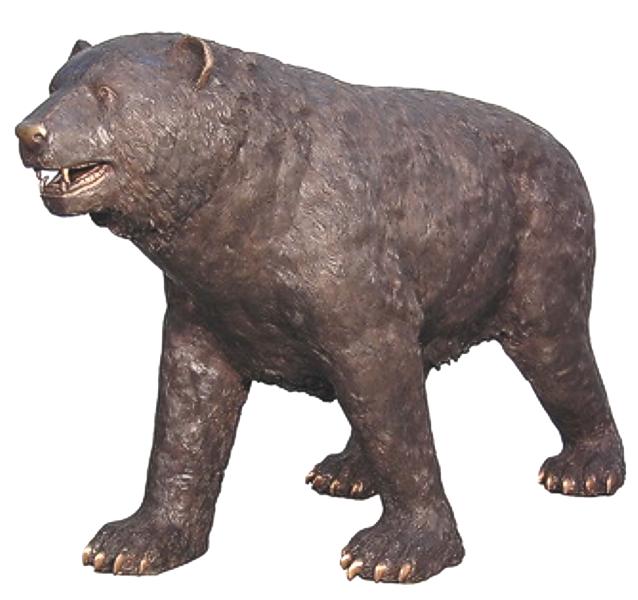 Bronze Bear Statues - AF 57320
