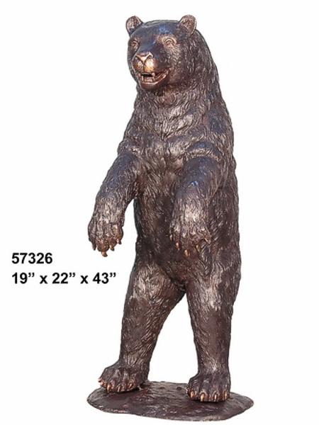 Bronze Bear Statues - AF 57326