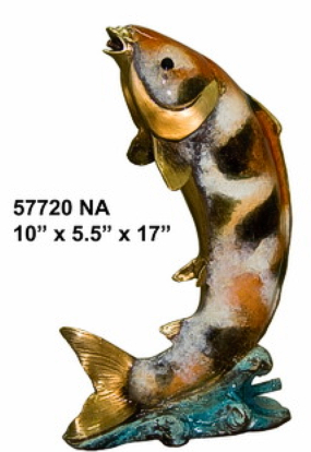 Bronze Fish Fountain - AF 57720NA_J