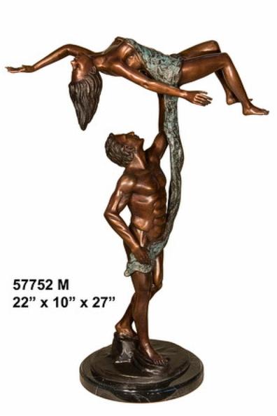 Bronze Dancers Statues - AF 57752M