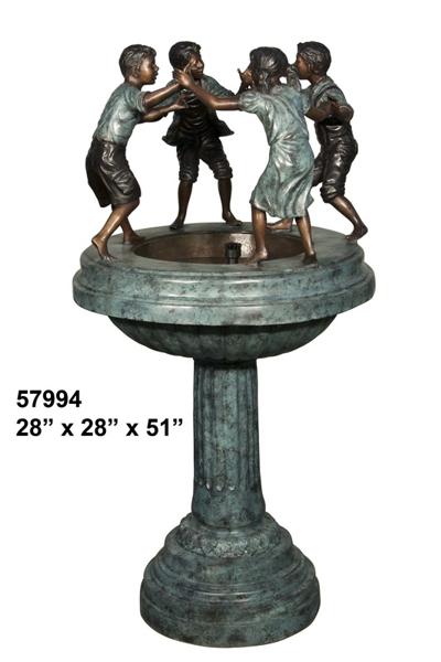 Bronze Children's Fountain - AF 57994