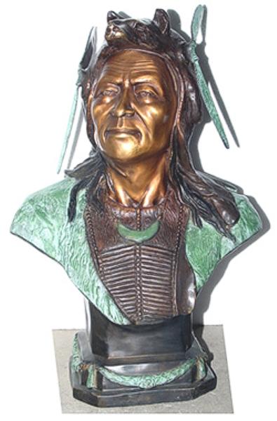 Bronze Indian Statue - AF 58009
