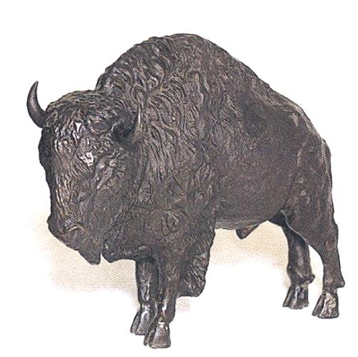 Bronze Bison Statues - ASB 650