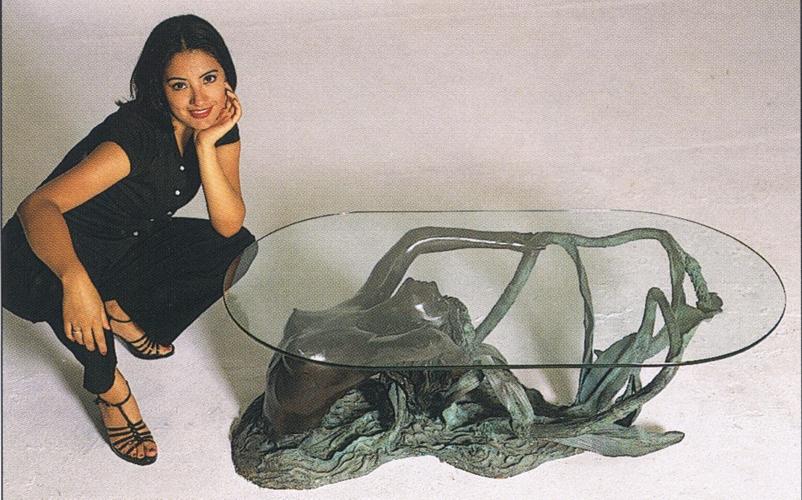 Bronze Mermaid Table - ASB 720