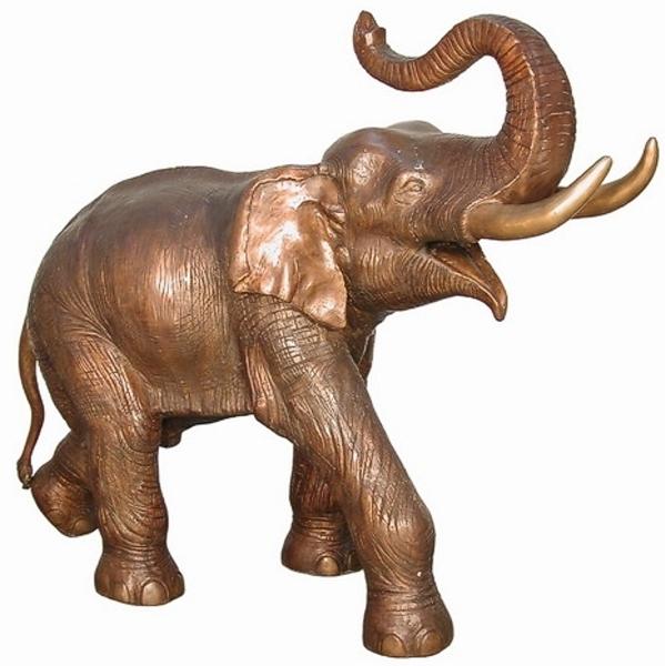 Bronze Elephant Statue - AF 74235R