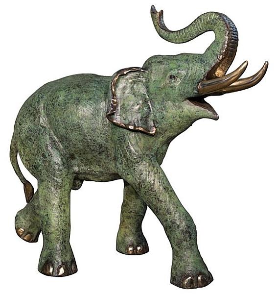 Bronze Elephant Statue - AF 74235R NJ
