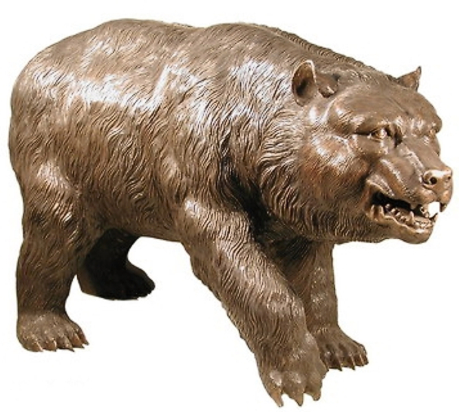 Bronze Bear Statues - AF 75020