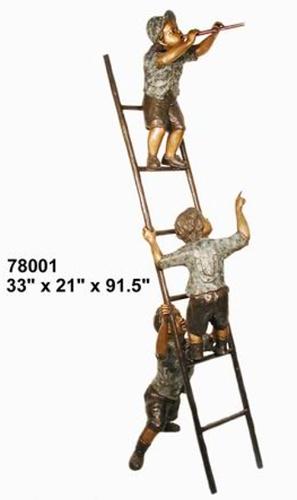 Bronze Children Statues - AF 78001