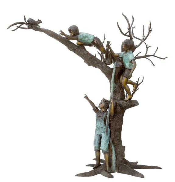 Bronze Children Statues - ASB 798