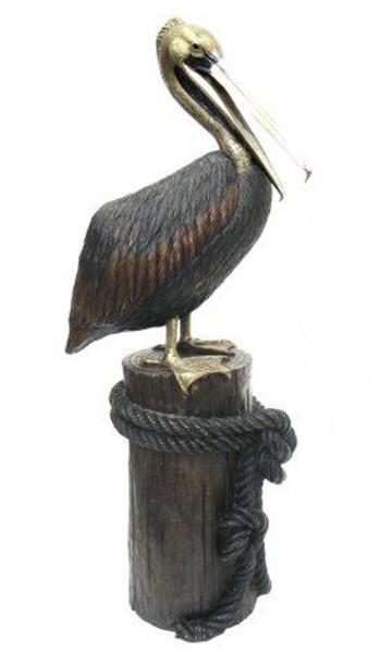 Bronze Pelican Statues - AF 81010