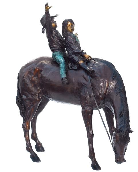 Bronze Horse Statues - ASB 814