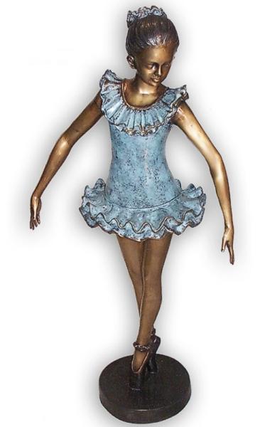 Bronze Ballerina Statue - AF 89055