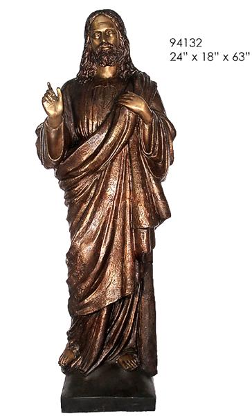 Bronze Jesus Statue - AF 94132