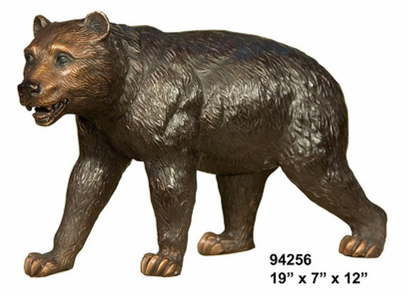 Bronze Bear Statues - AF 94256