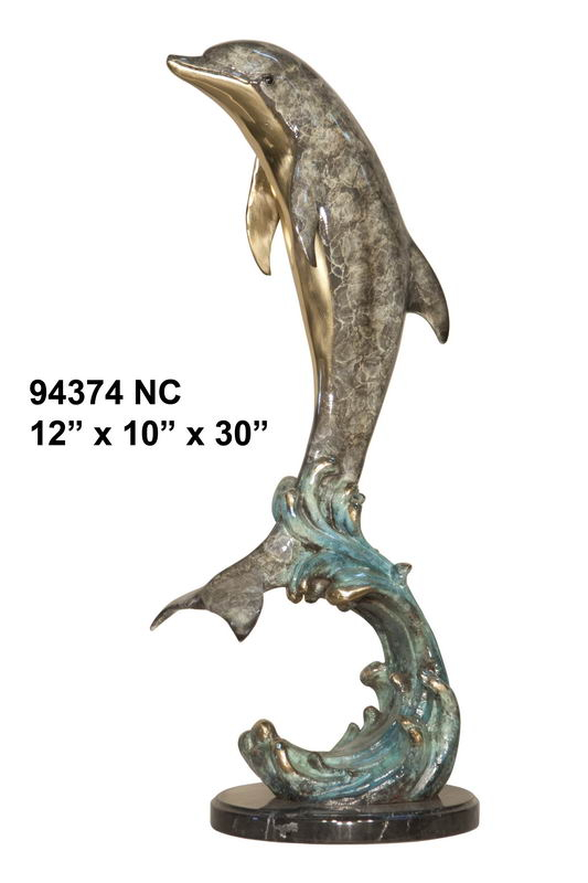Bronze Dolphin Fountain - AF 94374NC